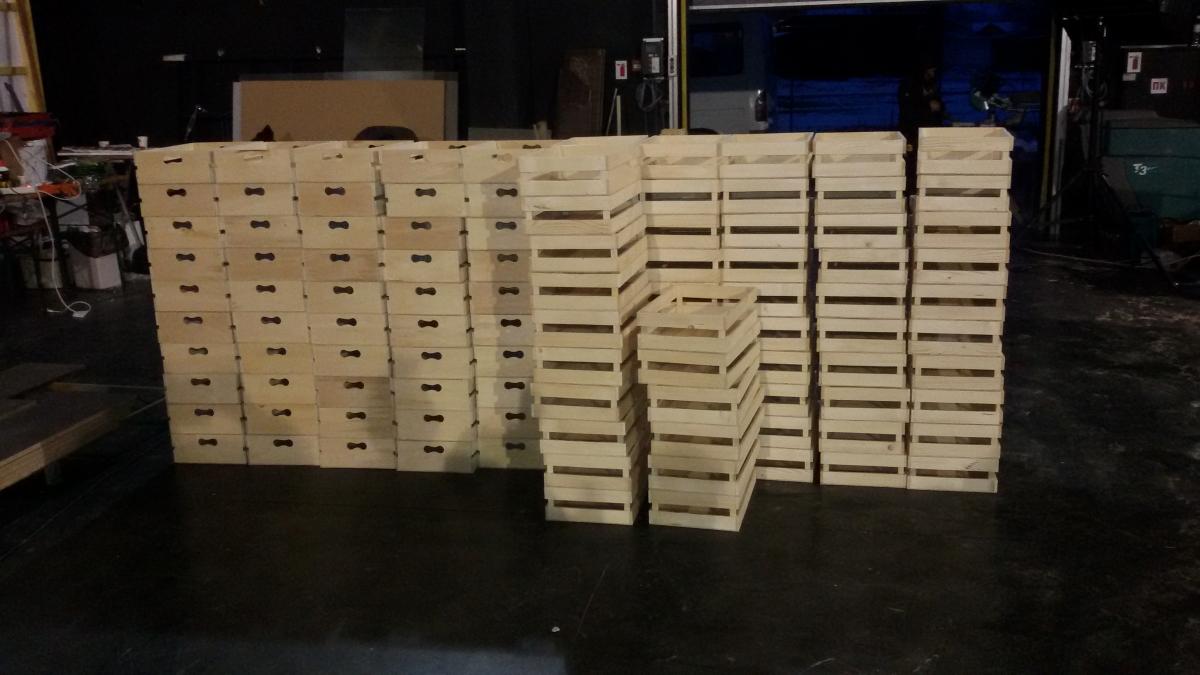 щайги дървени за MasterChef!