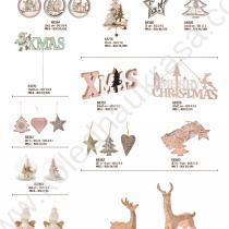 еленчета, елхи и др. играчки за празника