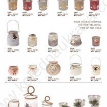 Коледни подноси, свещници, чаши
