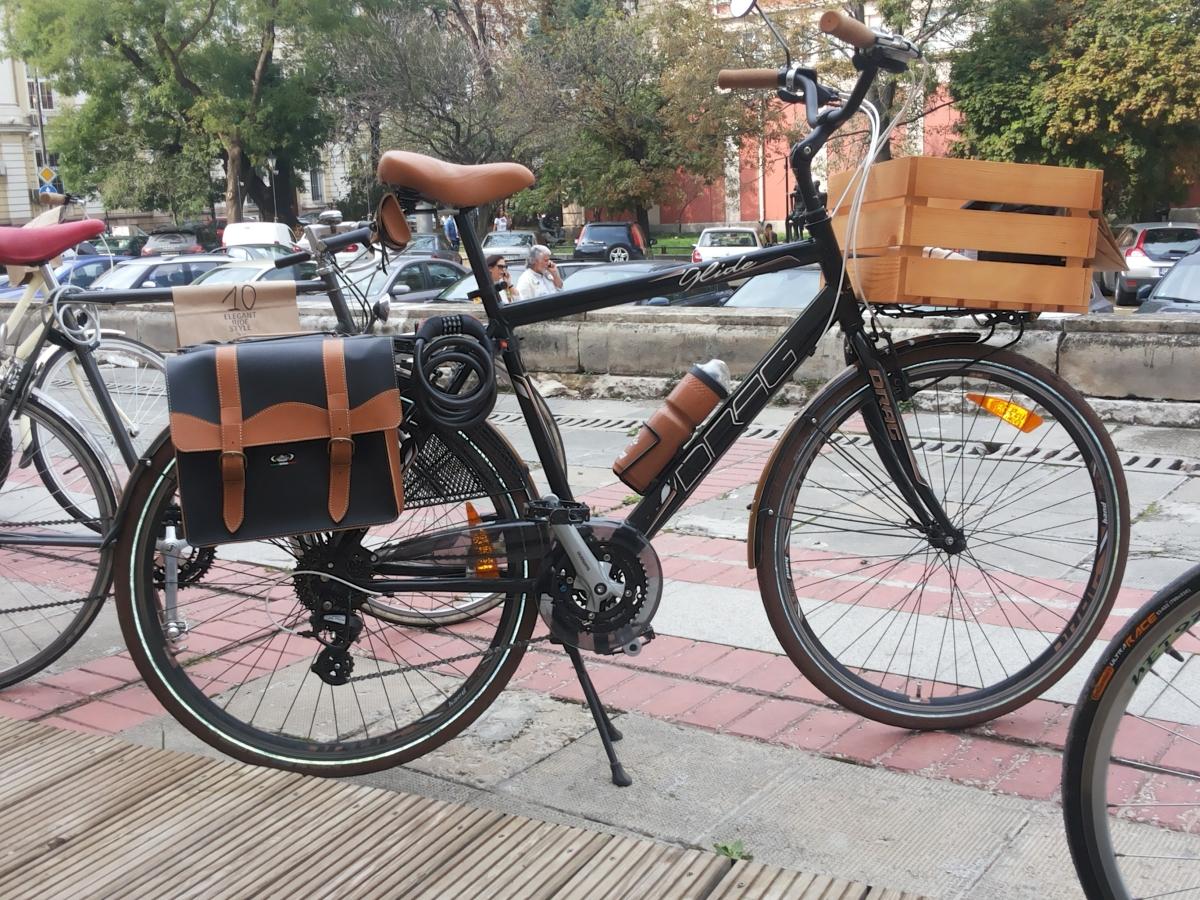 щайга в точен цвят за колело